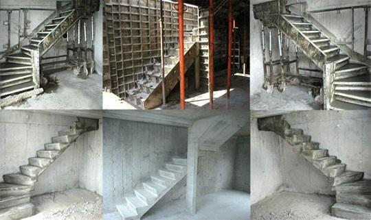 из частном лестница фото бетона доме в