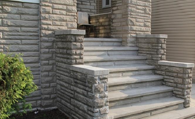 Уличные лестницы для частного дома